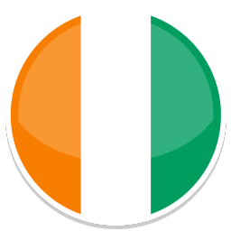 256x256px size png icon of Cote dIvoire