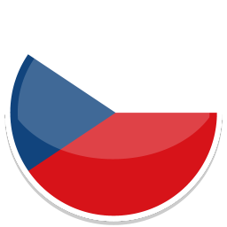 256x256px size png icon of Czech Republic