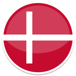 256x256px size png icon of Denmark