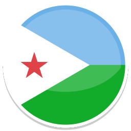 256x256px size png icon of Djibouti