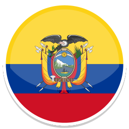 256x256px size png icon of Ecuador