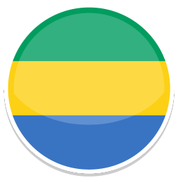 256x256px size png icon of Gabon