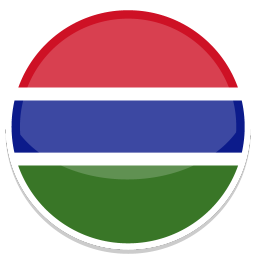 256x256px size png icon of Gambia