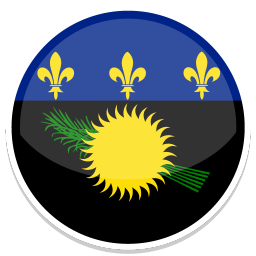 256x256px size png icon of Guadeloupe