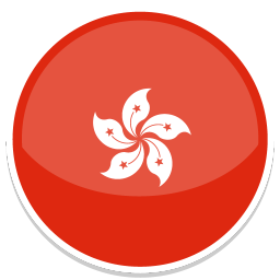 256x256px size png icon of Hong kong
