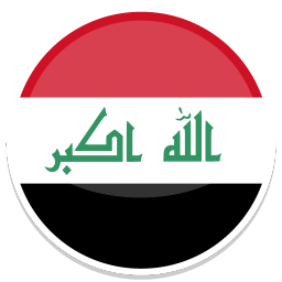 256x256px size png icon of Iraq