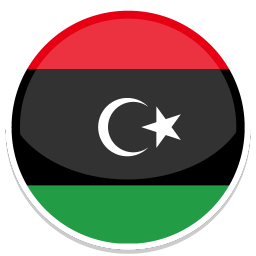 256x256px size png icon of Libya