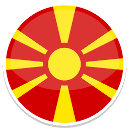 256x256px size png icon of Macedonia