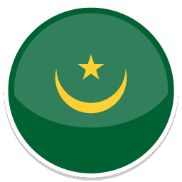 256x256px size png icon of Mauritania