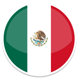 256x256px size png icon of Mexico