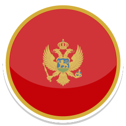 256x256px size png icon of Montenegro