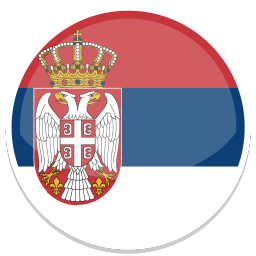 256x256px size png icon of Serbia