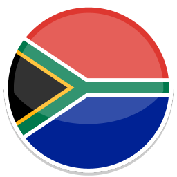 256x256px size png icon of South africa