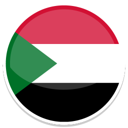 256x256px size png icon of Sudan