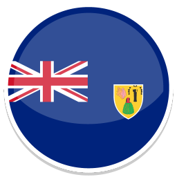 256x256px size png icon of Turks and Caicos