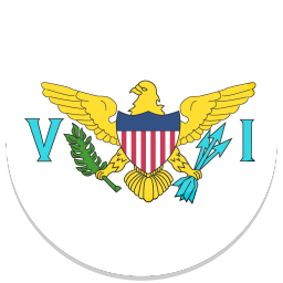 256x256px size png icon of United States Virgin Islands