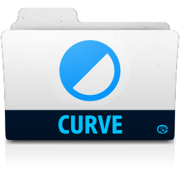 256x256px size png icon of curve folder