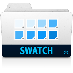 256x256px size png icon of swatch folder