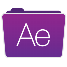 256x256px size png icon of After Effects Folder