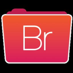 256x256px size png icon of Bridge Folder
