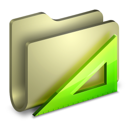 256x256px size png icon of Applications Folder