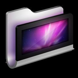 256x256px size png icon of Desktop Metal Folder