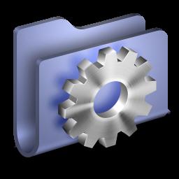 256x256px size png icon of Developer Blue Folder
