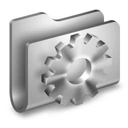 256x256px size png icon of Developer Metal Folder
