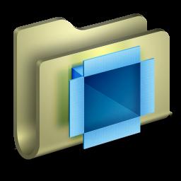 256x256px size png icon of Dropbox Folder
