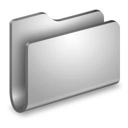256x256px size png icon of Generic Metal Folder