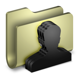 256x256px size png icon of Group Folder