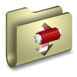 256x256px size png icon of Torrents Folder