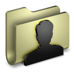 256x256px size png icon of User Folder