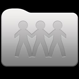 256x256px size png icon of Aluminum folder   GenericSharePoint