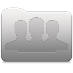 256x256px size png icon of Aluminum folder   Group