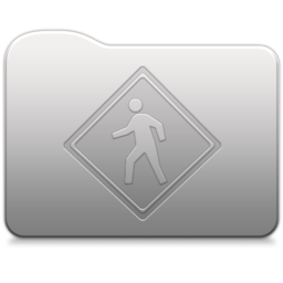 256x256px size png icon of Aluminum folder   Public