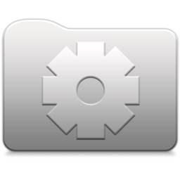 256x256px size png icon of Aluminum folder   Smart
