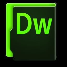 256x256px size png icon of Adobe Dreamweaver CC