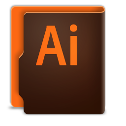 256x256px size png icon of Adobe Illustrator CC