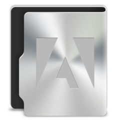 256x256px size png icon of Adobe2