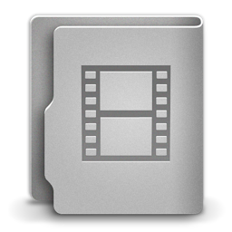 256x256px size png icon of Movies