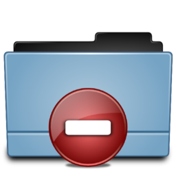 256x256px size png icon of Folder Private