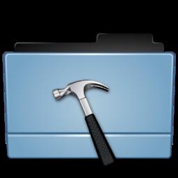256x256px size png icon of Folder dev