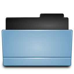 256x256px size png icon of Folder open