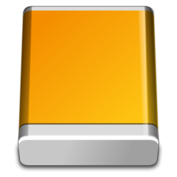 256x256px size png icon of HD External