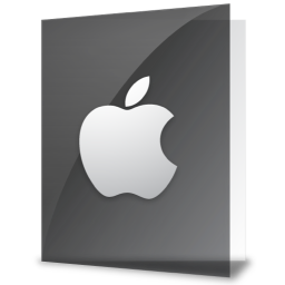 256x256px size png icon of iFolder Apple