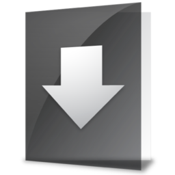 256x256px size png icon of iFolder Downloads