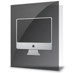 256x256px size png icon of iFolder iMac