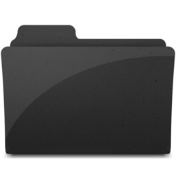 256x256px size png icon of GenericFolderIcon