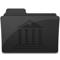 256x256px size png icon of LibraryFolderIcon